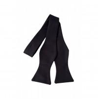 Papion Black Self Tie
